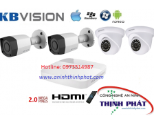 Camera Kbvision Bộ 2.0MP